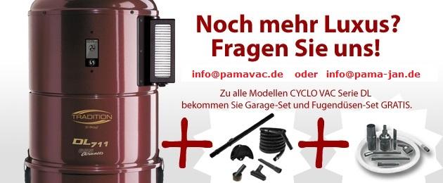 Zentralstaubsauger PAMA-VAC Berlin